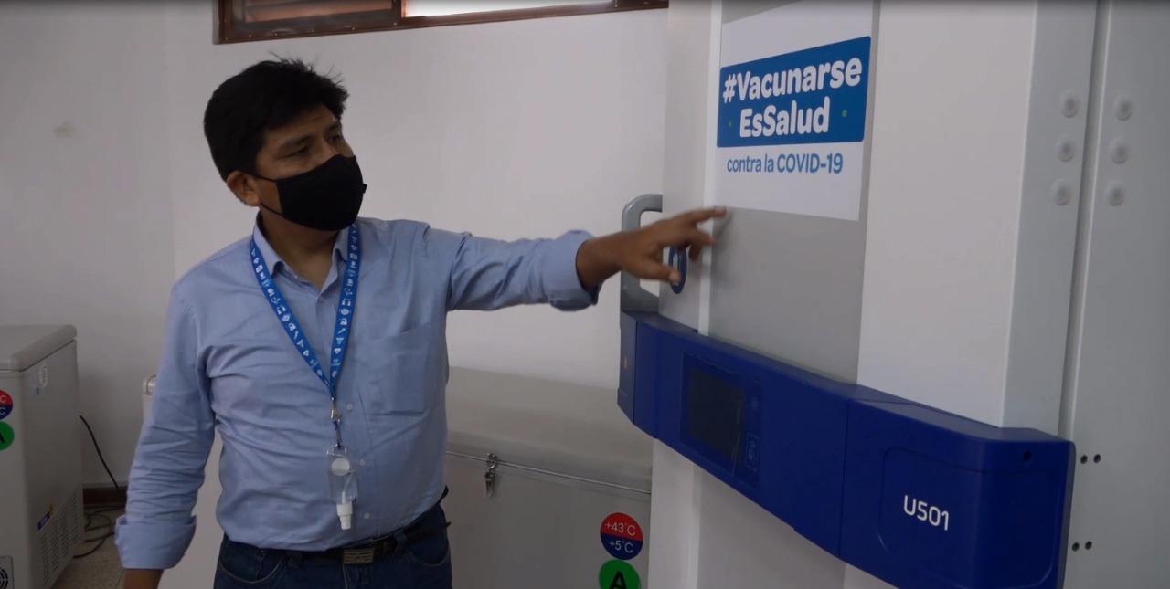 Essalud - Gran Almacén Macroregional de Vacunas contra el Covid-19 estará listo en 15 días en beneficio de más de 650 mil asegurados y no asegurados
