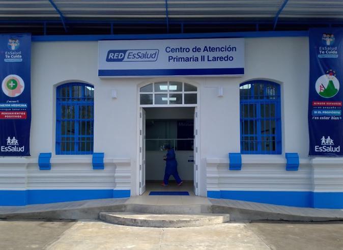 Centro Médico Laredo de EsSalud La Libertad fortalece atenciones para beneficio de más de 17 mil asegurados