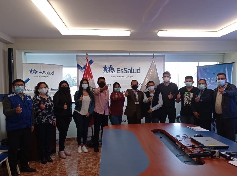 Essalud - EsSalud Amazonas realiza taller de capacitación a profesionales Serums 2021-II