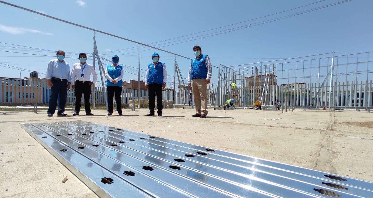 Essalud - Centro de Atención Guadalupe de EsSalud La Libertad implementará nuevos módulos para atención medica