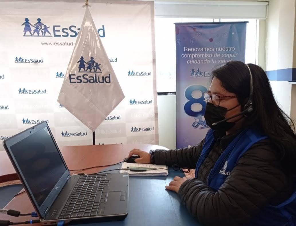 EsSalud Amazonas amplía servicios médicos mediante teleconsultas