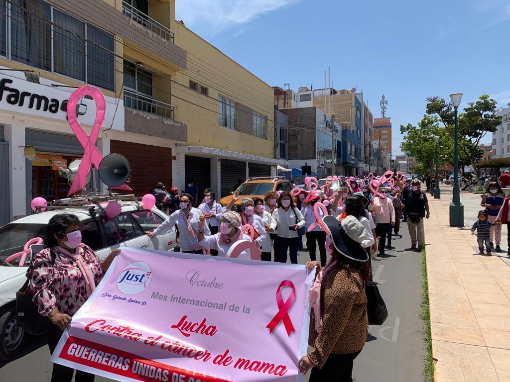 Essalud - EsSalud Tacna organiza caminata contra el cáncer