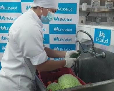 Essalud - EsSalud Cusco promueve higiene adecuada de alimentos