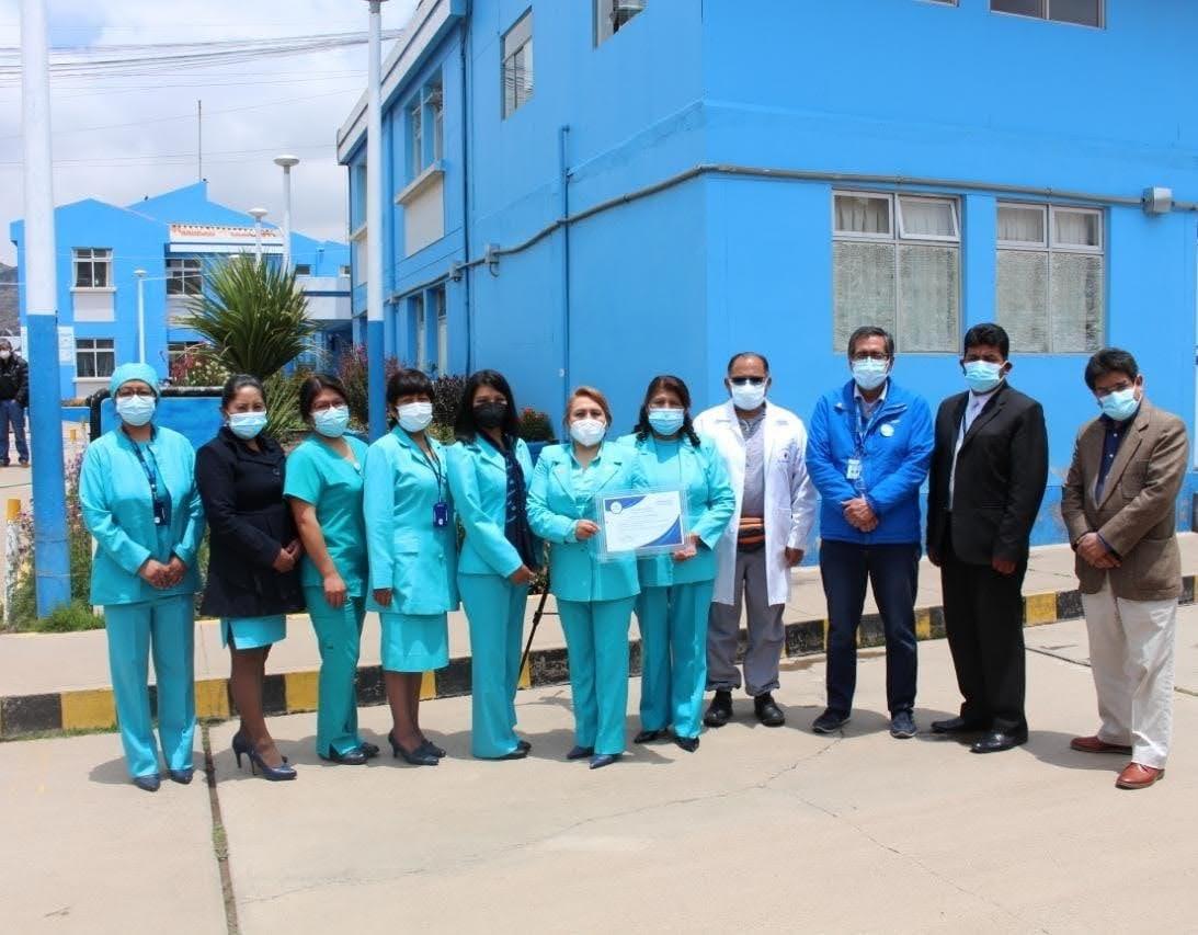 Essalud - EsSalud Puno: reconocida por Central de Esterilización Hospitalaria