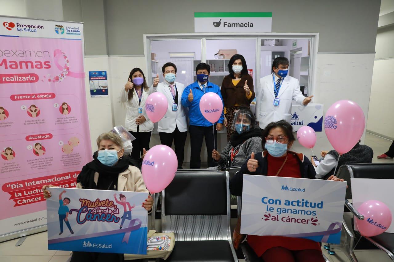 Essalud - EsSalud brindó más de 130 mil atenciones para prevenir el cáncer durante la pandemia