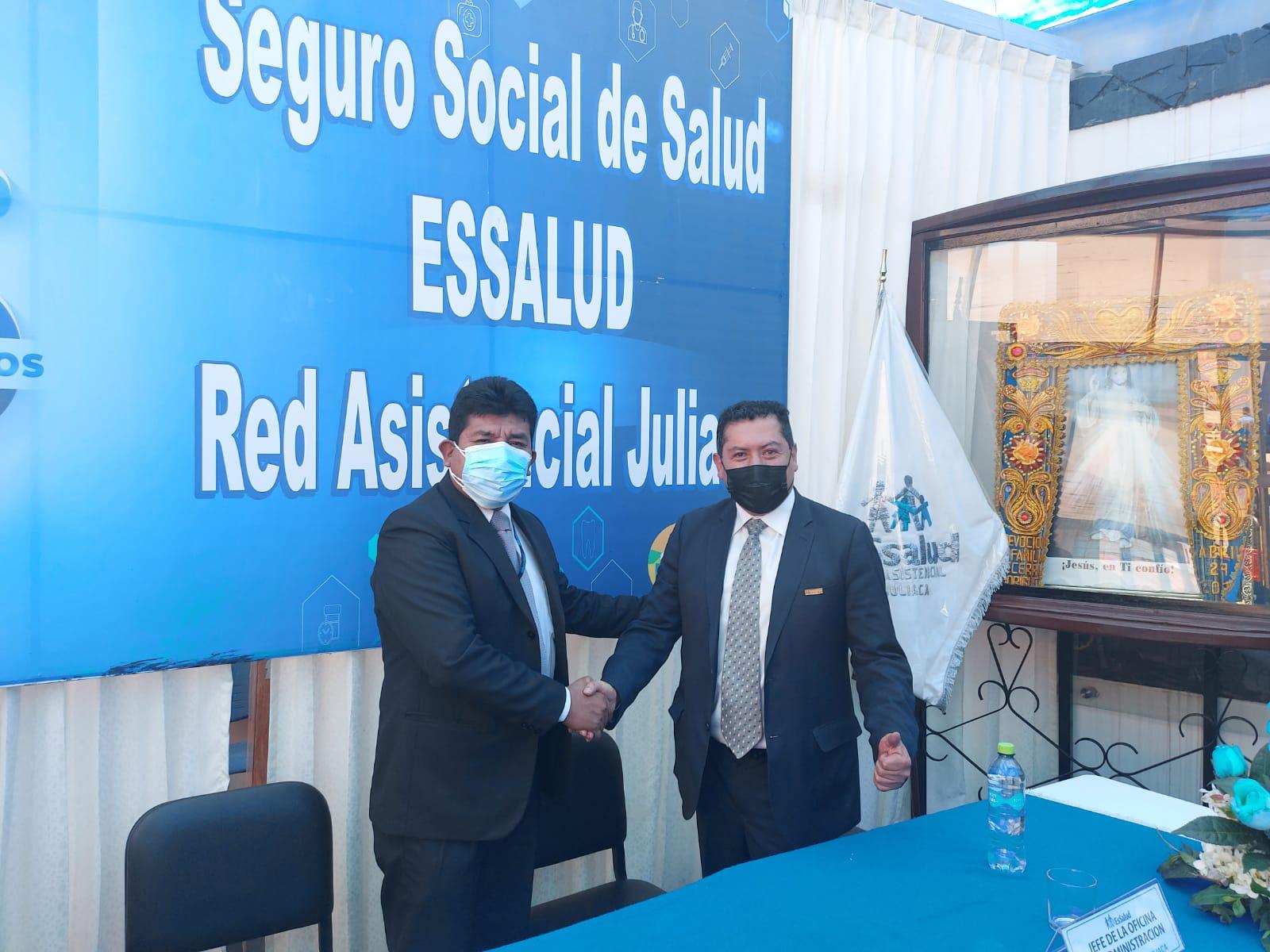 Essalud - Nuevo gerente de EsSalud Juliaca asume funciones