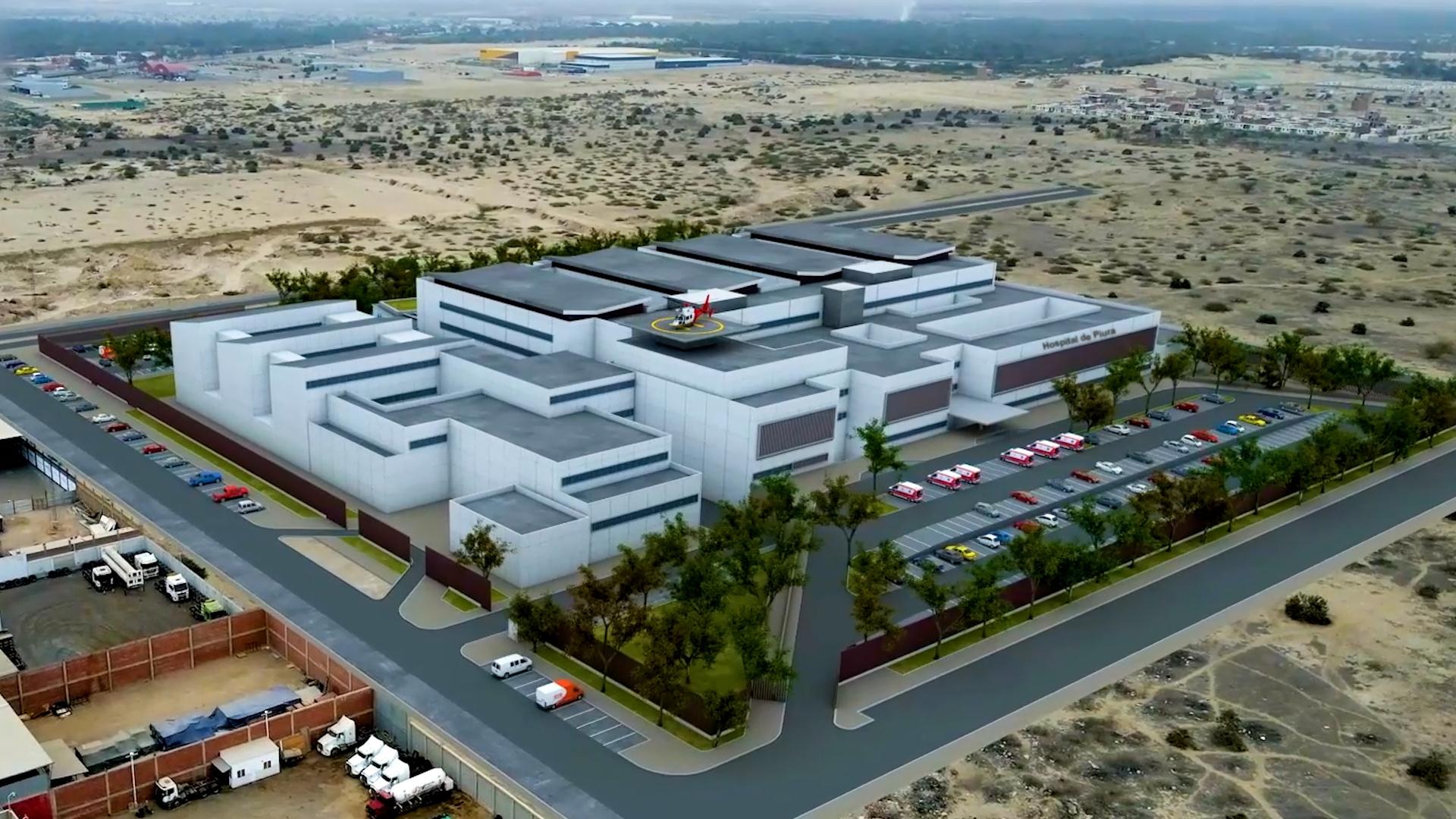 Essalud - Más de un millón de asegurados se beneficiarán con proyectos hospitalarios en Piura y Chimbote