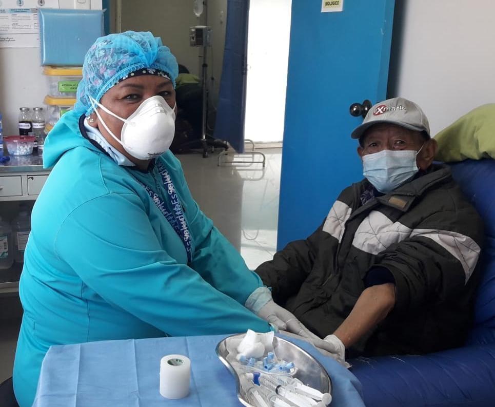 EsSalud Tacna realizó más de 1,800 quimioterapias durante pandemia